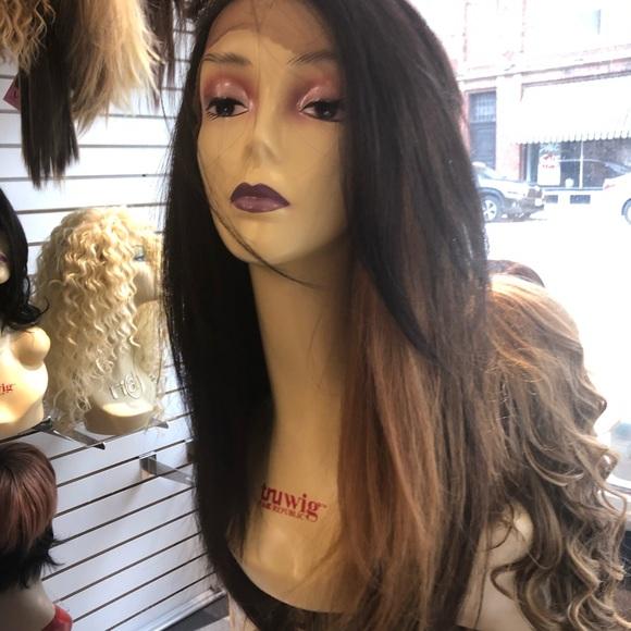 Accessories - Dark brown Freepart 4/27 fullcap wig Long. Wig